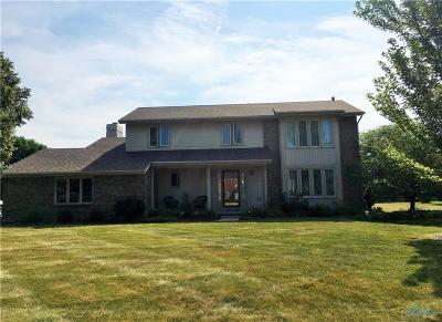 Perrysburg Single Family Home Contingent: 25600 Brittany Road