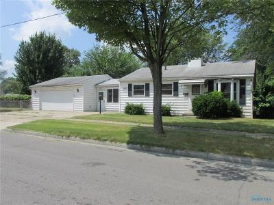 Toledo OH Single Family Home For Sale: $24,000