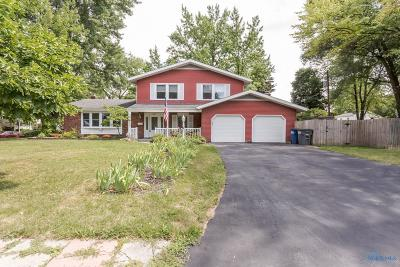 Toledo Single Family Home Contingent: 3807 Schneider Road