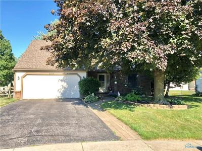 Toledo OH Single Family Home For Sale: $171,900