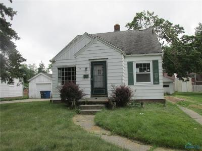 Toledo OH Single Family Home For Sale: $35,900
