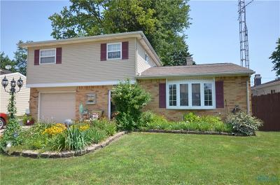 Toledo Single Family Home For Sale: 5148 Oldham Drive