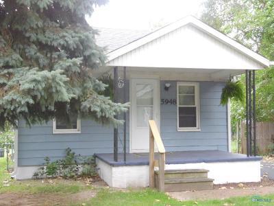 Toledo Single Family Home For Sale: 5948 Curson Drive
