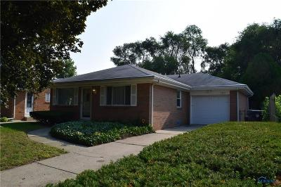 Toledo OH Single Family Home For Sale: $89,900