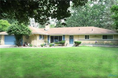 Toledo Single Family Home Contingent: 3454 Scarsborough Road