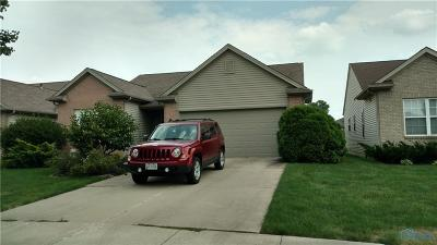 Maumee Single Family Home For Sale: 4825 Port Drive
