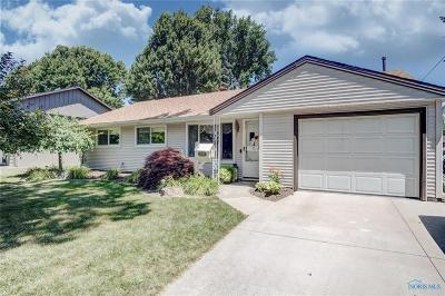 Maumee Single Family Home Contingent: 1212 Birch Avenue