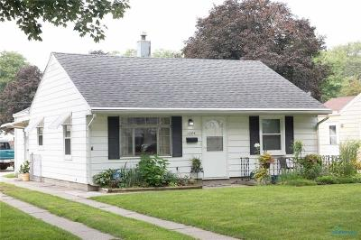 Toledo Single Family Home For Sale: 1204 Eastgate Road