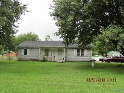 Ottawa Hills, Monclova, Oregon, Rossford, Swanton, Berkey, Metamora, Lyons, Whitehouse, Waterville Single Family Home For Sale: 3935 County Road 2 Road