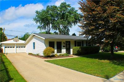 Maumee Single Family Home For Sale: 1405 Eastfield Drive