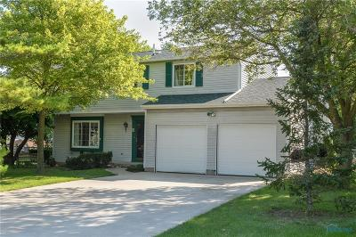 Perrysburg Single Family Home Contingent: 10305 Cliffwood Road