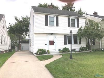 Toledo OH Single Family Home For Sale: $123,900