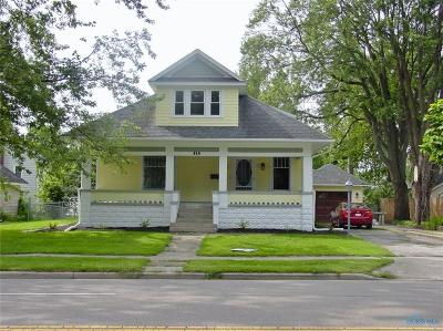 Bryan OH Single Family Home Contingent: $149,900
