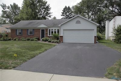 Sylvania Single Family Home Contingent: 4709 Wickford West Drive