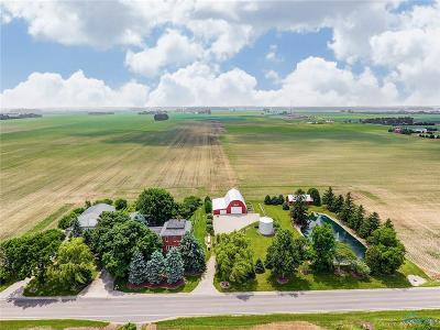 Ottawa Hills, Monclova, Oregon, Rossford, Swanton, Berkey, Metamora, Lyons, Whitehouse, Waterville Single Family Home For Sale: 4481 County Road S Road