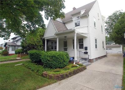 Toledo OH Single Family Home Contingent: $87,500