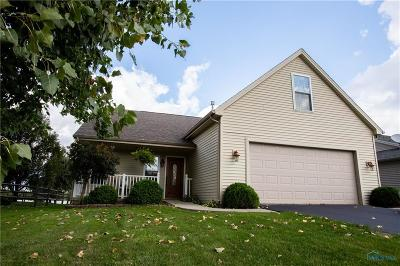 Perrysburg Single Family Home Contingent: 7022 Twin Lakes Road
