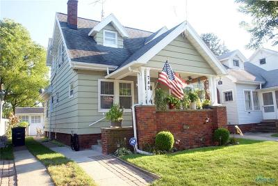 Toledo OH Single Family Home For Sale: $76,500
