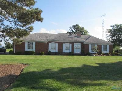 Curtice Single Family Home For Sale: 23834 W State Route 579 State Highway
