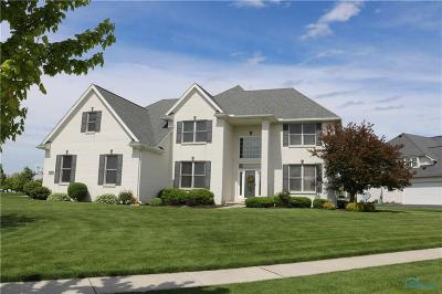 Ottawa Hills, Monclova, Oregon, Rossford, Swanton, Berkey, Metamora, Lyons, Whitehouse, Waterville Single Family Home For Sale: 8450 Snapdragon Lane