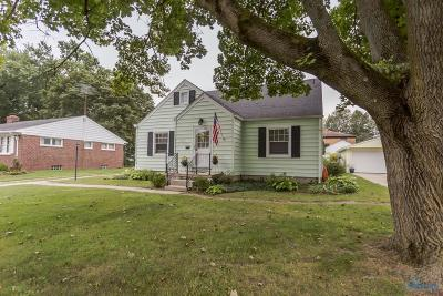 Maumee Single Family Home Contingent: 805 Phillips Street