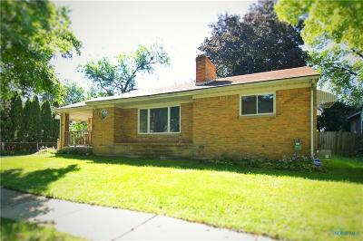 Toledo OH Single Family Home For Sale: $94,500