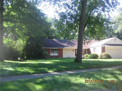 Sylvania OH Single Family Home For Sale: $162,500