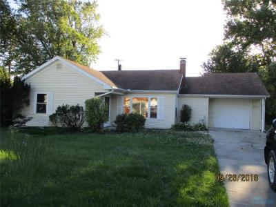 Toledo OH Single Family Home For Sale: $65,000