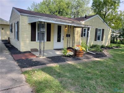 Toledo OH Single Family Home For Sale: $97,950