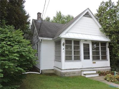 Sylvania OH Single Family Home For Sale: $62,500
