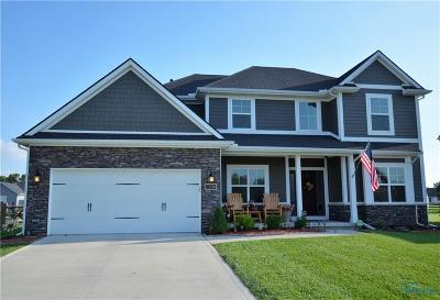 Maumee Single Family Home Contingent: 7709 Indian Town Road