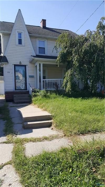 Toledo OH Single Family Home For Sale: $89,000