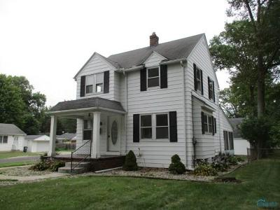 Toledo OH Single Family Home For Sale: $54,000
