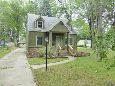 Toledo OH Single Family Home For Sale: $92,500