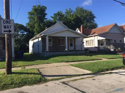 Toledo OH Single Family Home For Sale: $12,900