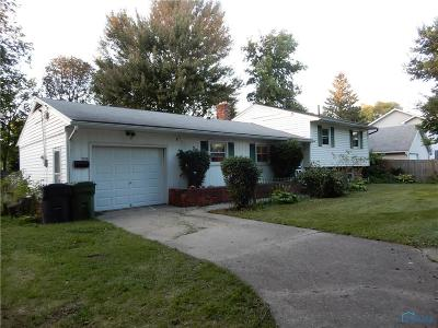 Maumee Single Family Home Contingent: 2105 Trailview Drive