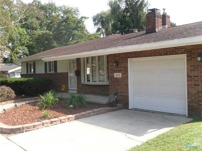 Toledo Single Family Home For Sale: 3119 Mona Lane