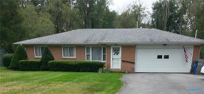 Toledo OH Single Family Home For Sale: $159,900