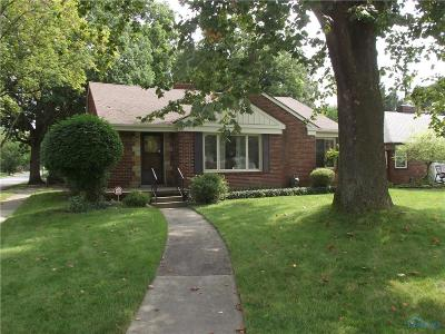 Toledo OH Single Family Home For Sale: $118,000