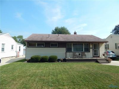 Toledo OH Single Family Home For Sale: $110,000