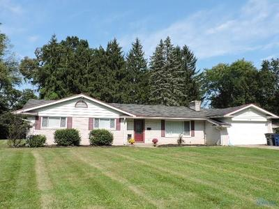 Toledo OH Single Family Home For Sale: $129,900