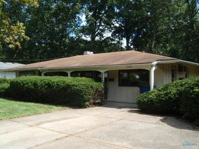 Toledo OH Single Family Home For Sale: $84,900