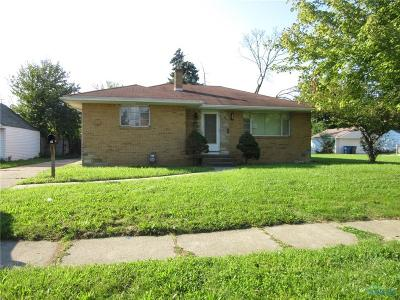 Toledo OH Single Family Home For Sale: $16,500