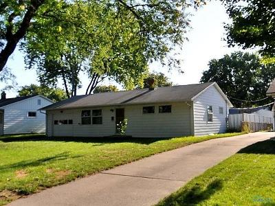 Toledo OH Single Family Home For Sale: $69,500