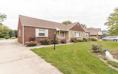 Maumee Single Family Home For Sale: 1423 Cass Road
