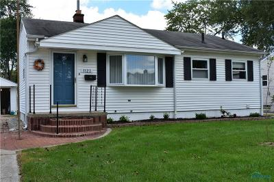Maumee Single Family Home Contingent: 1123 Richland Street
