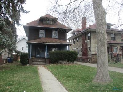 Toledo OH Single Family Home For Sale: $47,500