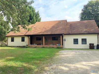 Swanton Single Family Home For Sale: 5759 Waterville Swanton Road