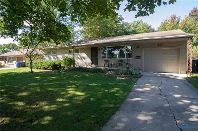 Perrysburg Single Family Home Contingent: 217 Marie Place