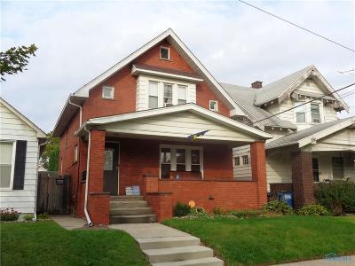 Toledo OH Single Family Home For Sale: $58,900